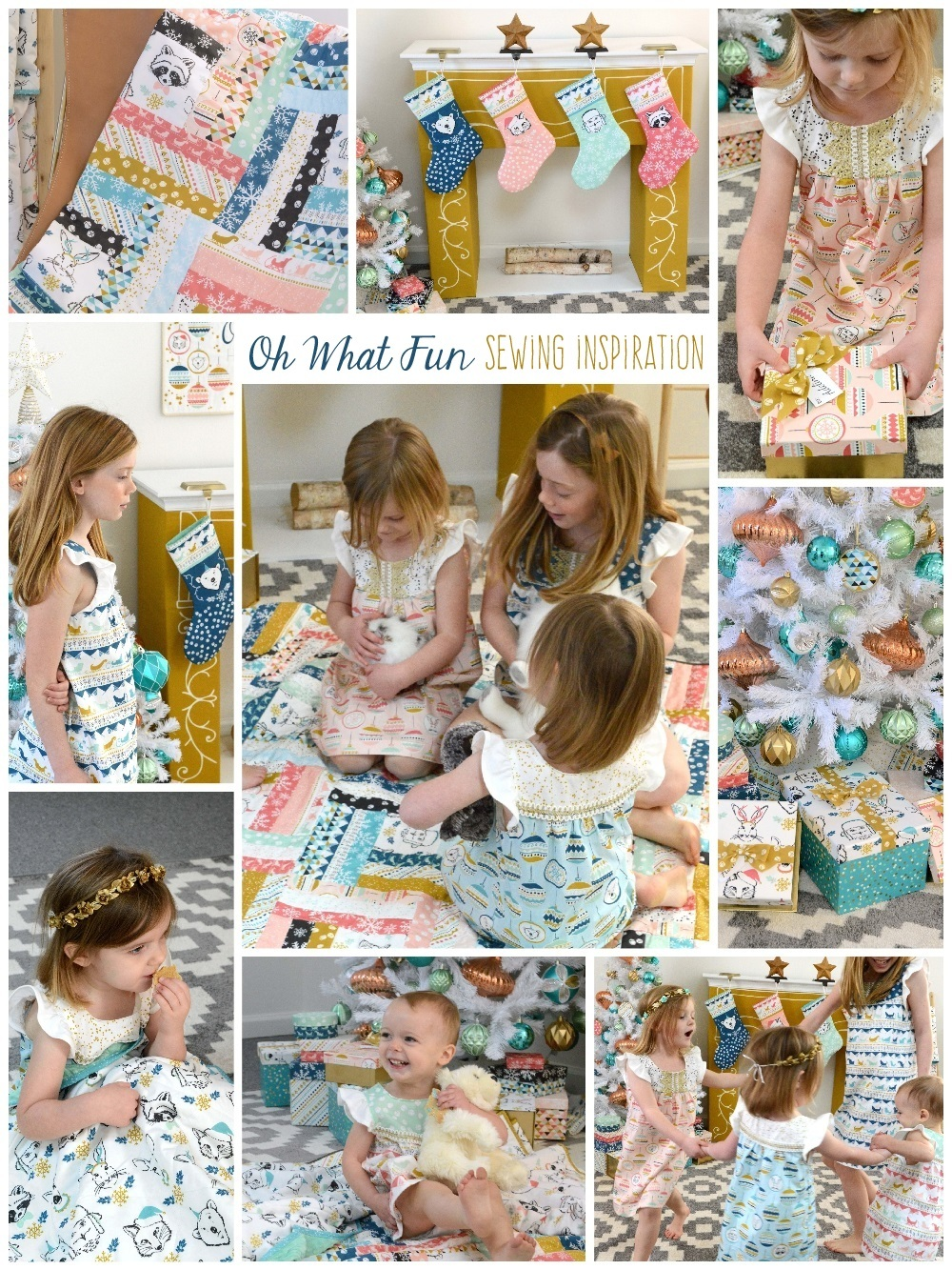 Oh What Fun Fabric Sewing Inspiration 1000