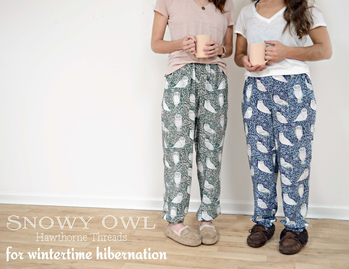 Snowy Owl Pajamas