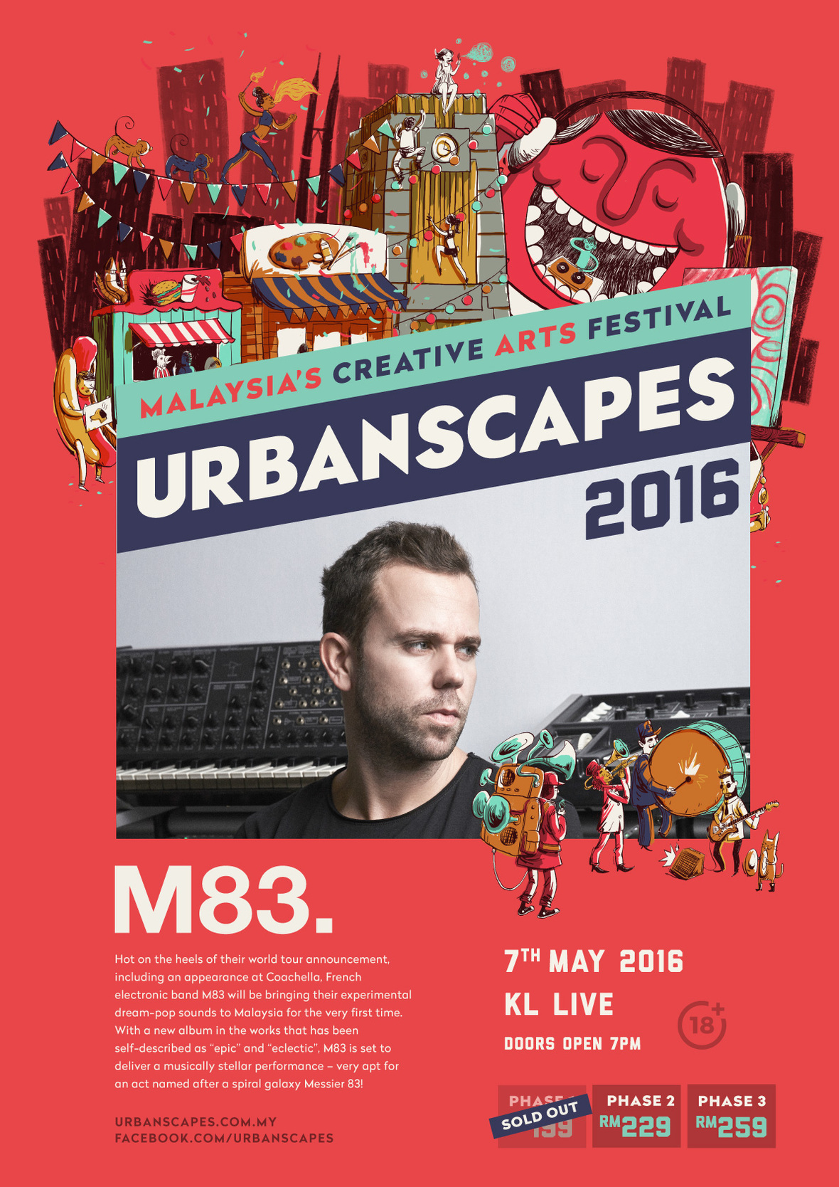MusicActs-A2Posters-M83-Phase1SoldOut