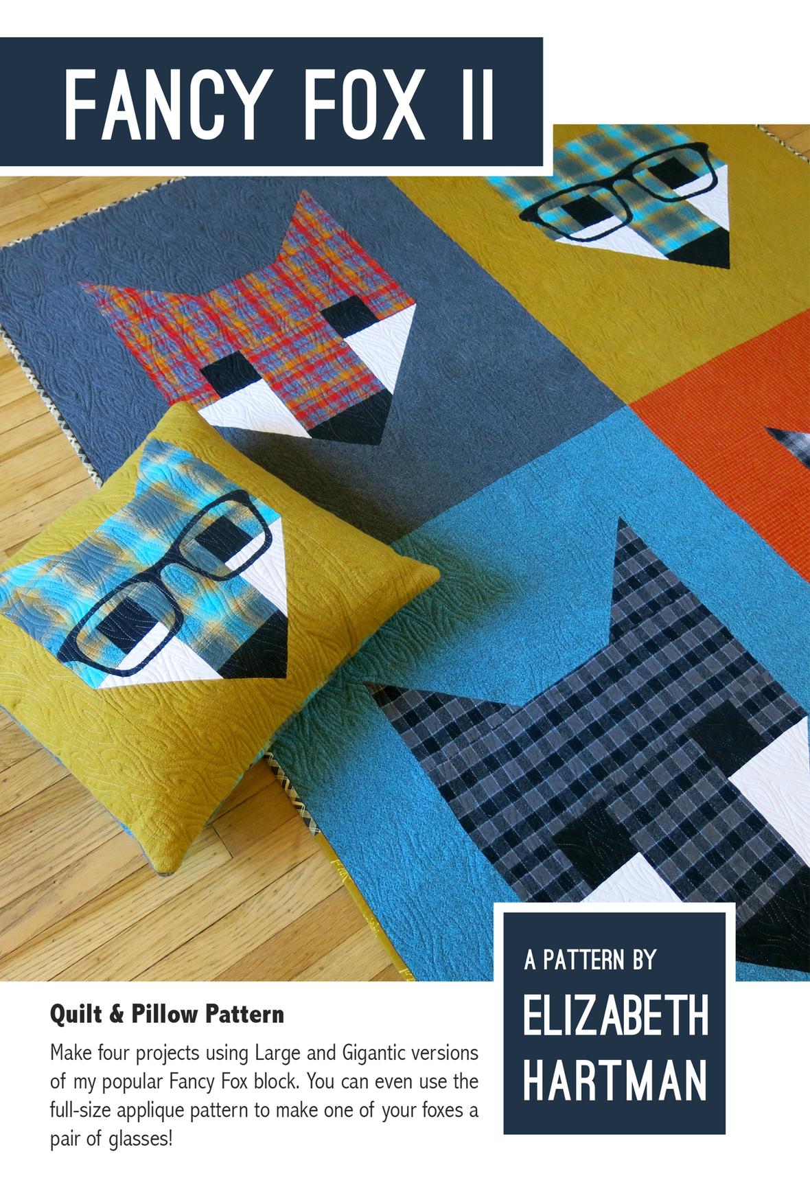 elizabeth hartman fancy fox 2 sewing pattern