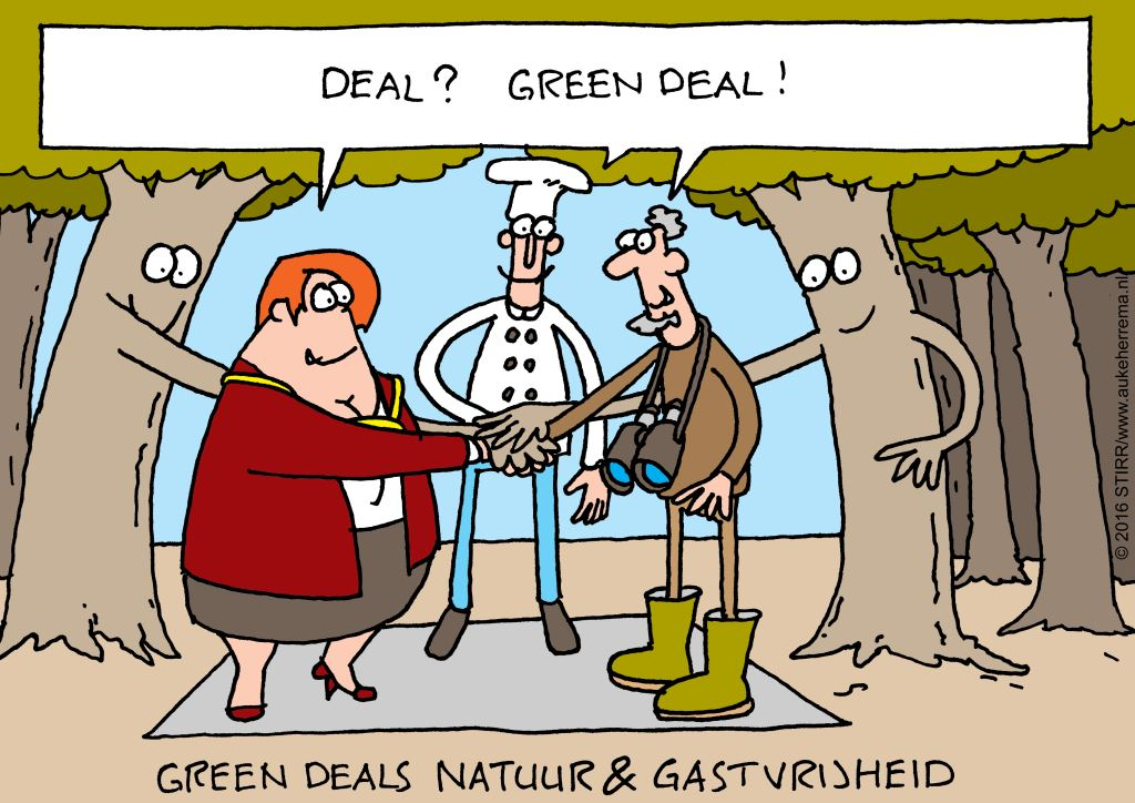 Cartoon GD-boekje Deal-GD RB