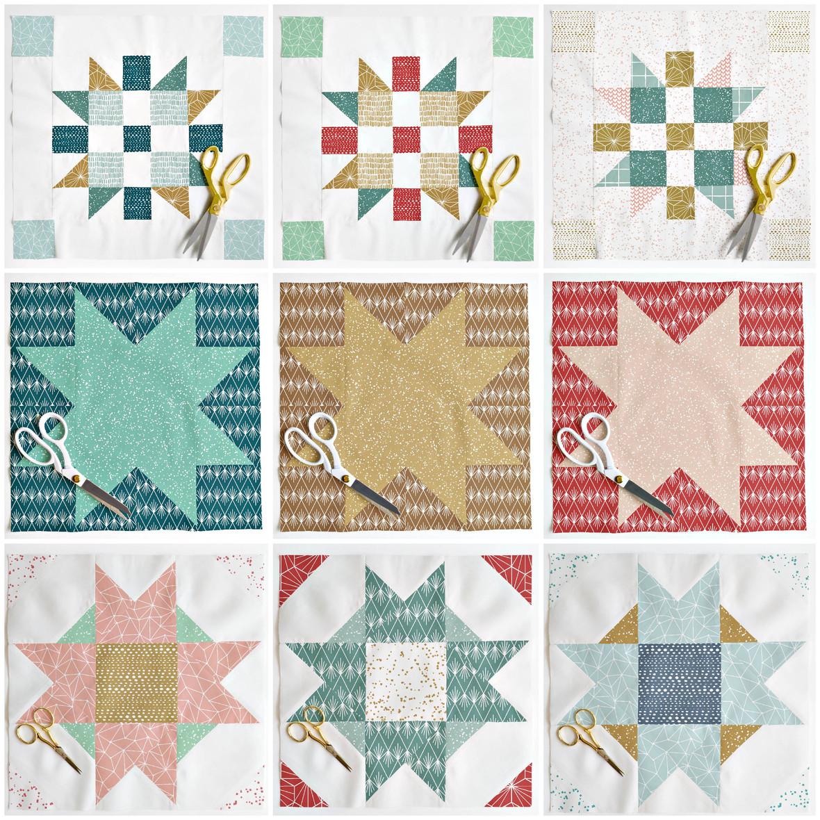 Hawthorne Essentials Christmas Quilt Block