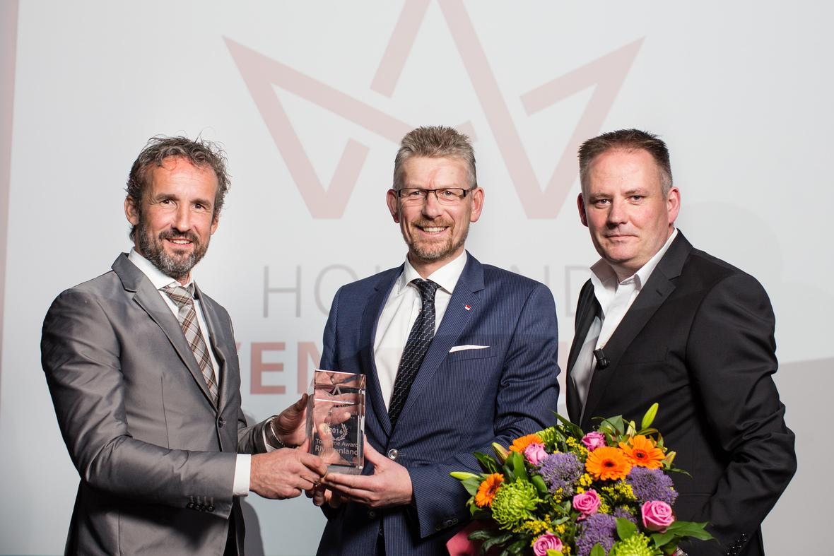 hollandevenementengroep wint toerisme award2016