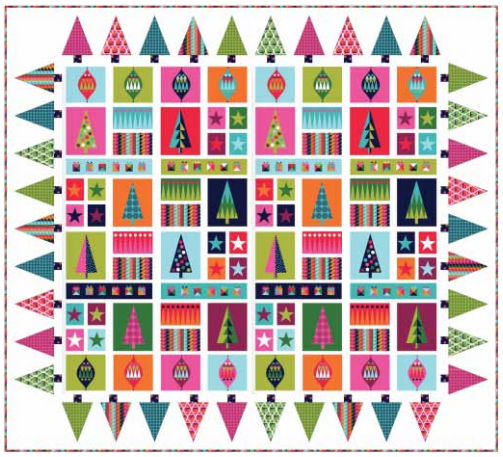 Wrap It Up Quilt  Makower Website
