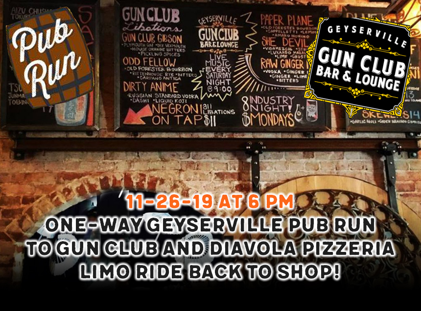 gunclub pub run