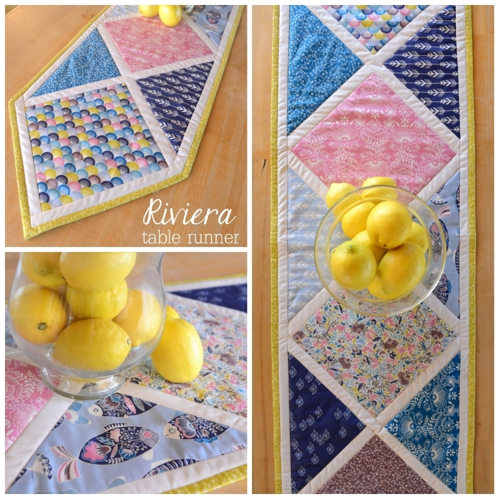 Riviera Fabric Table Runner