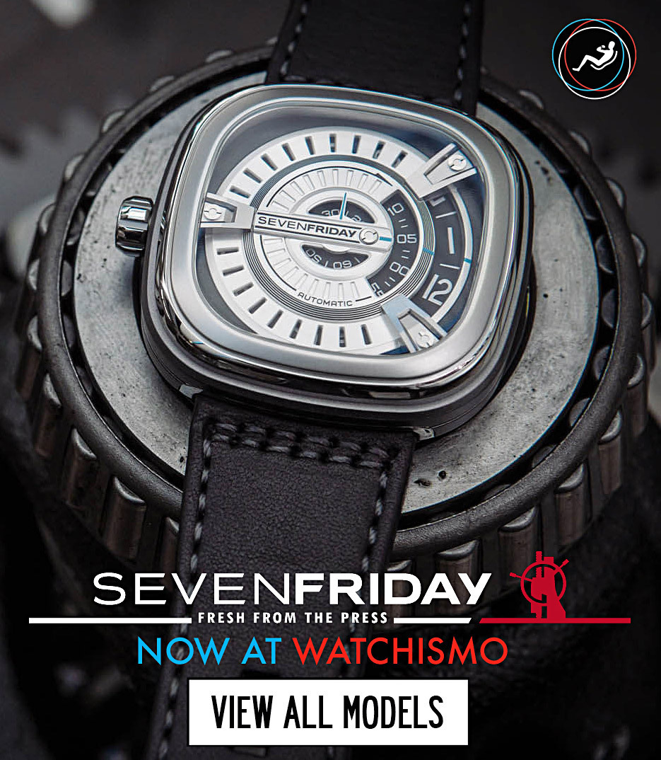 Watchismo times sevenfriday watches now at watchismo the for Watchismo