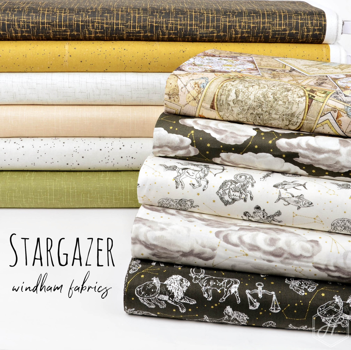 StarGazer Fabric Poster Windham at Hawthorne Supply Co