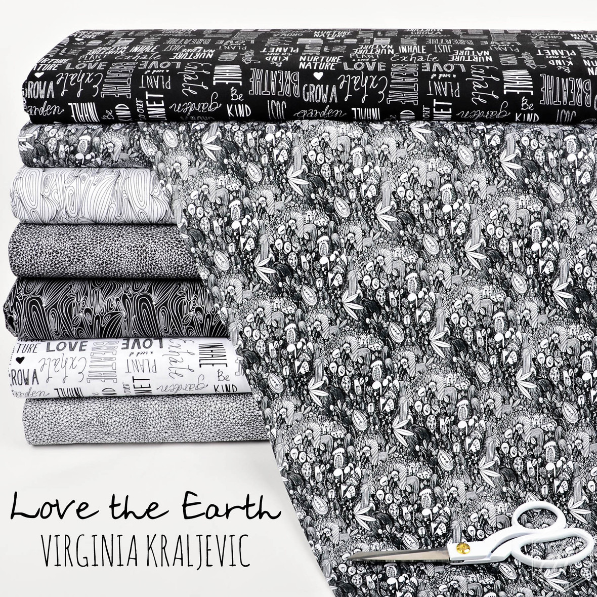Love the Earth Fabric Virginia Kraljevic at Hawthorne Supply Co