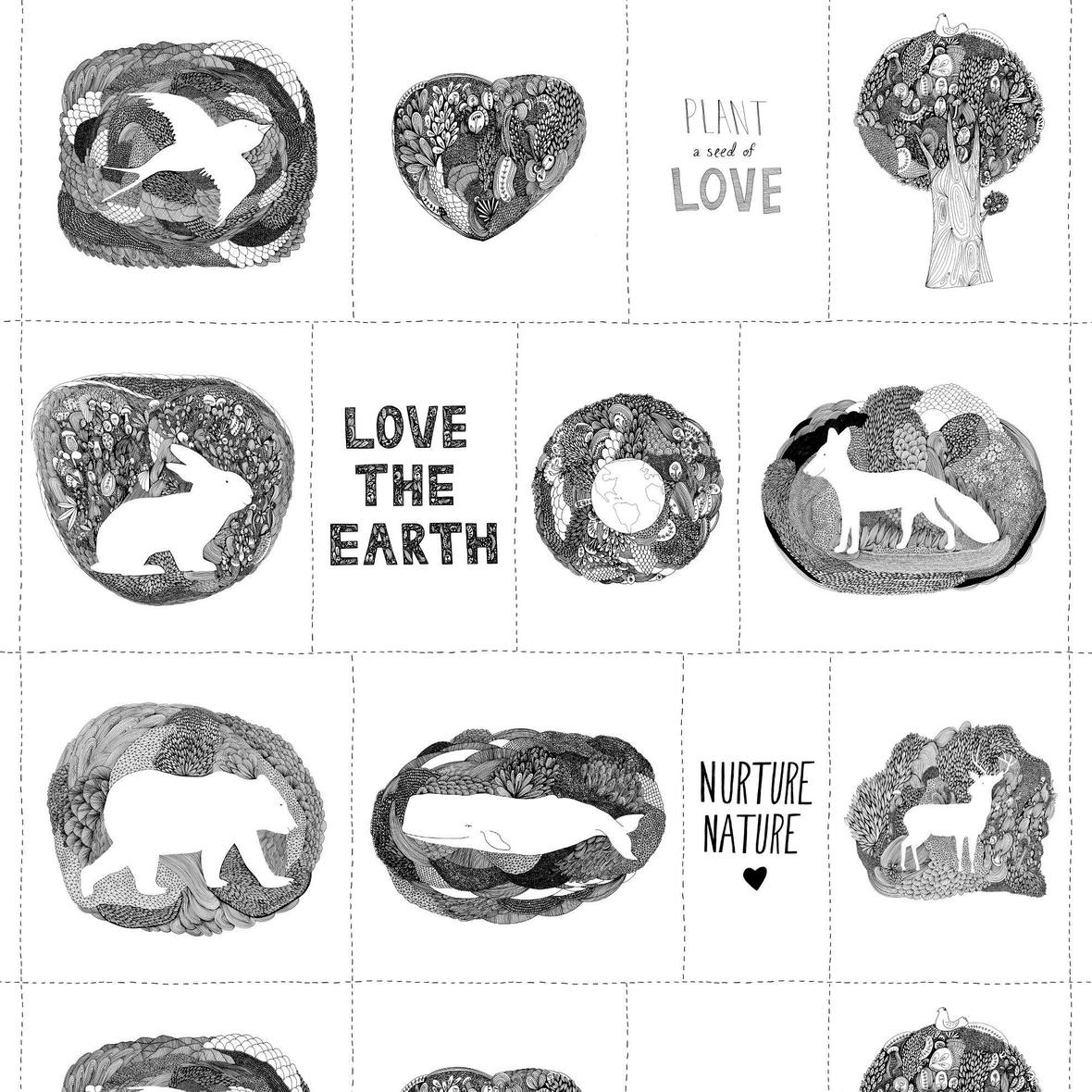 Love the Earth Panel