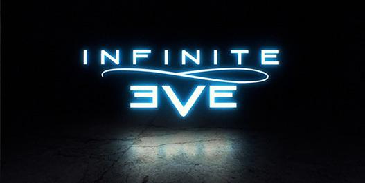 infinite eve glowing logo