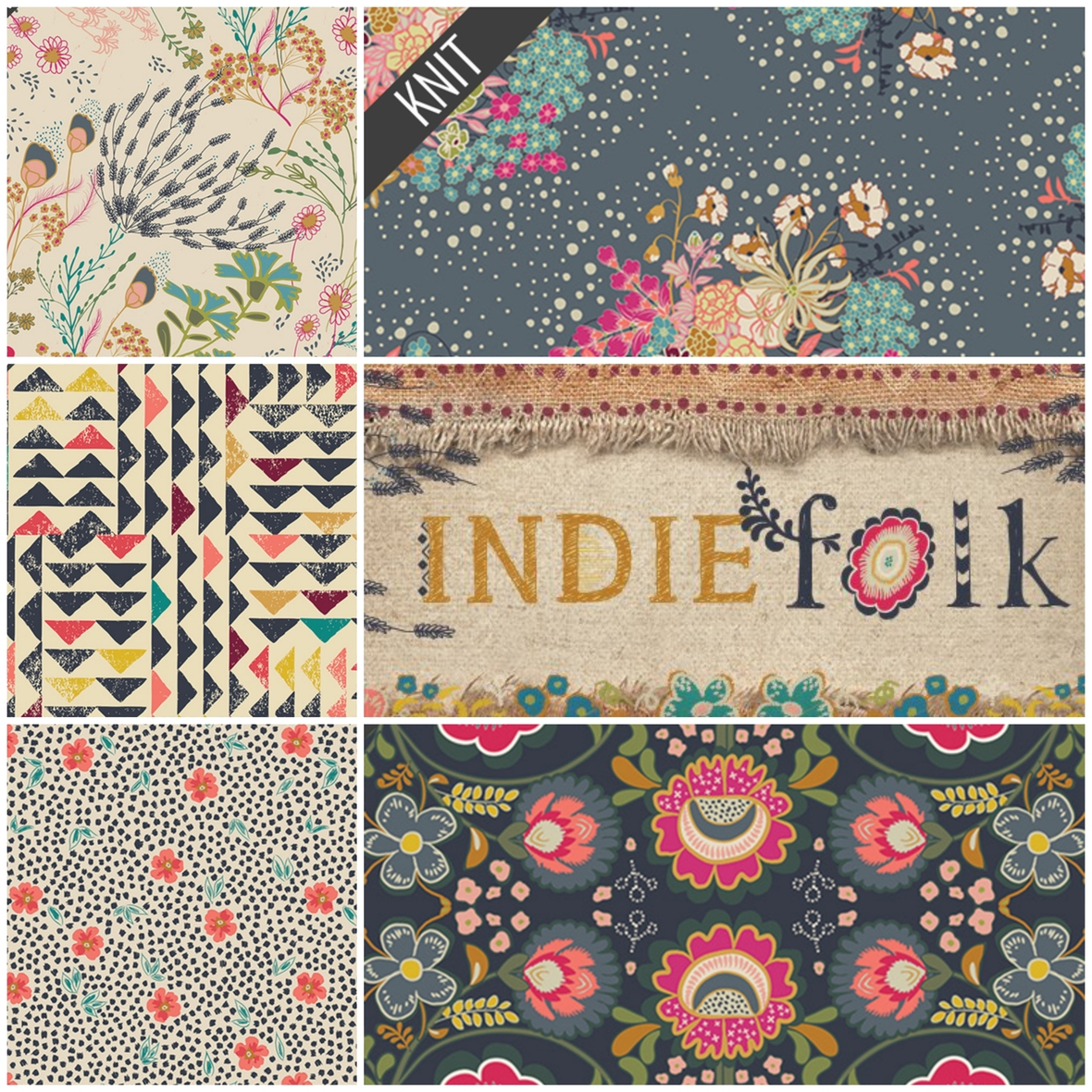 Indie Folk Knit Art Gallery