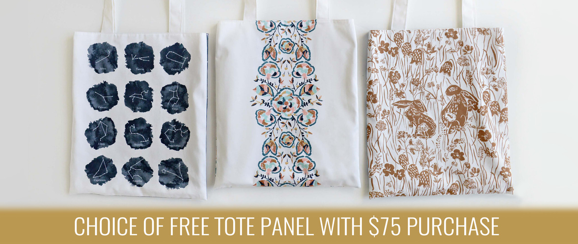 Home Page Tote Panel Banner