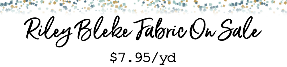 Lake Friday Riley Blake 7.95