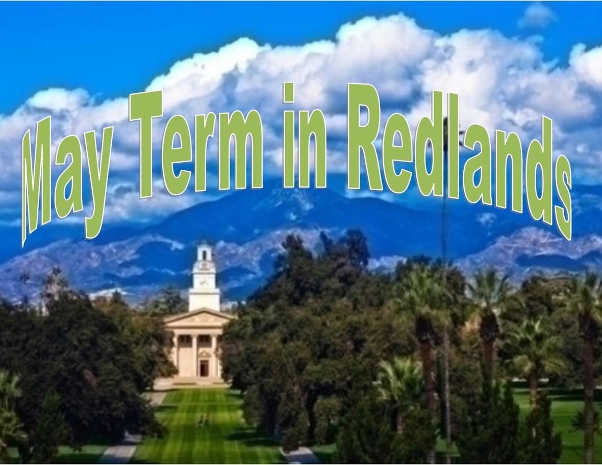May term redlands