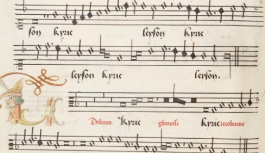 Alamire handschrift