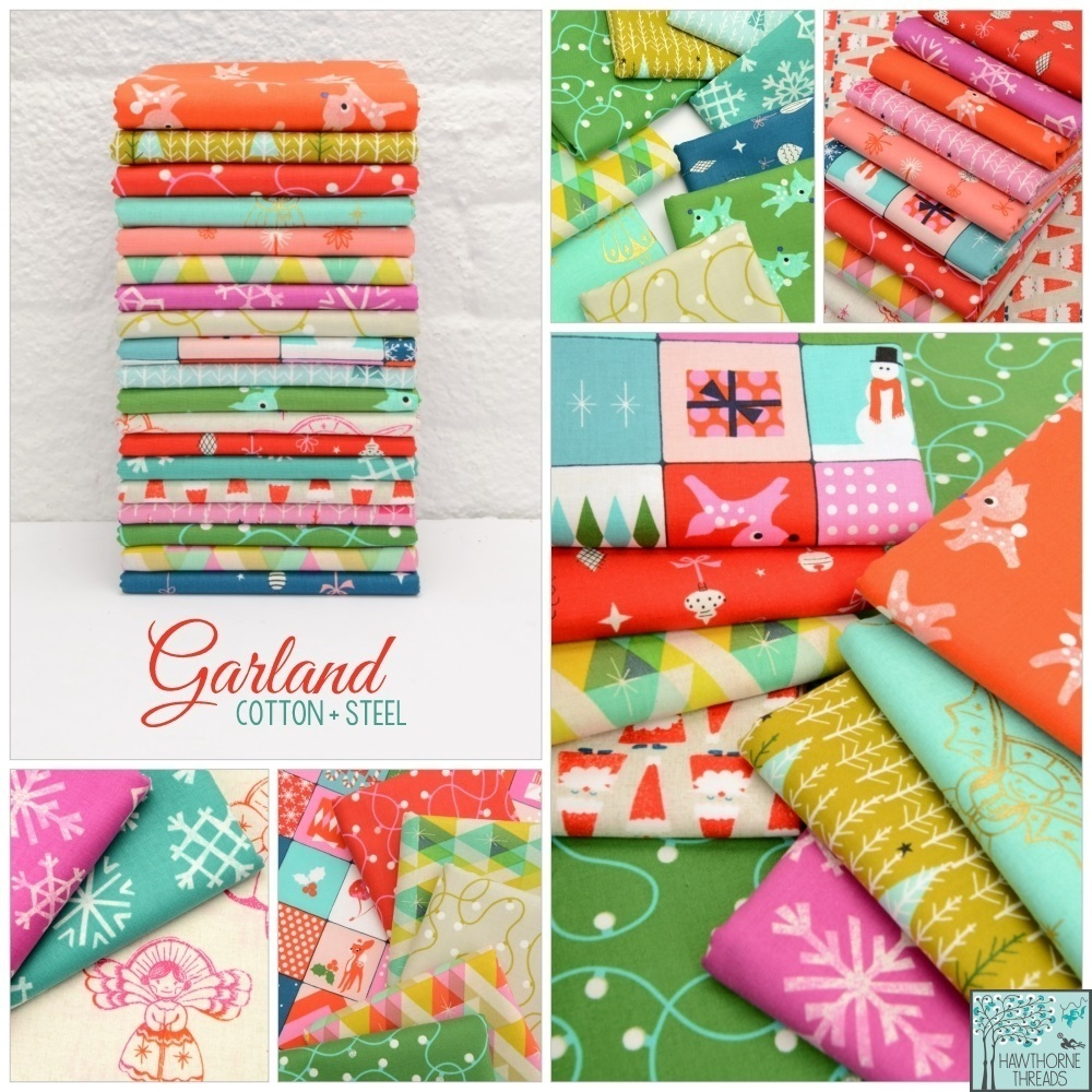 Garland Fabric Poster