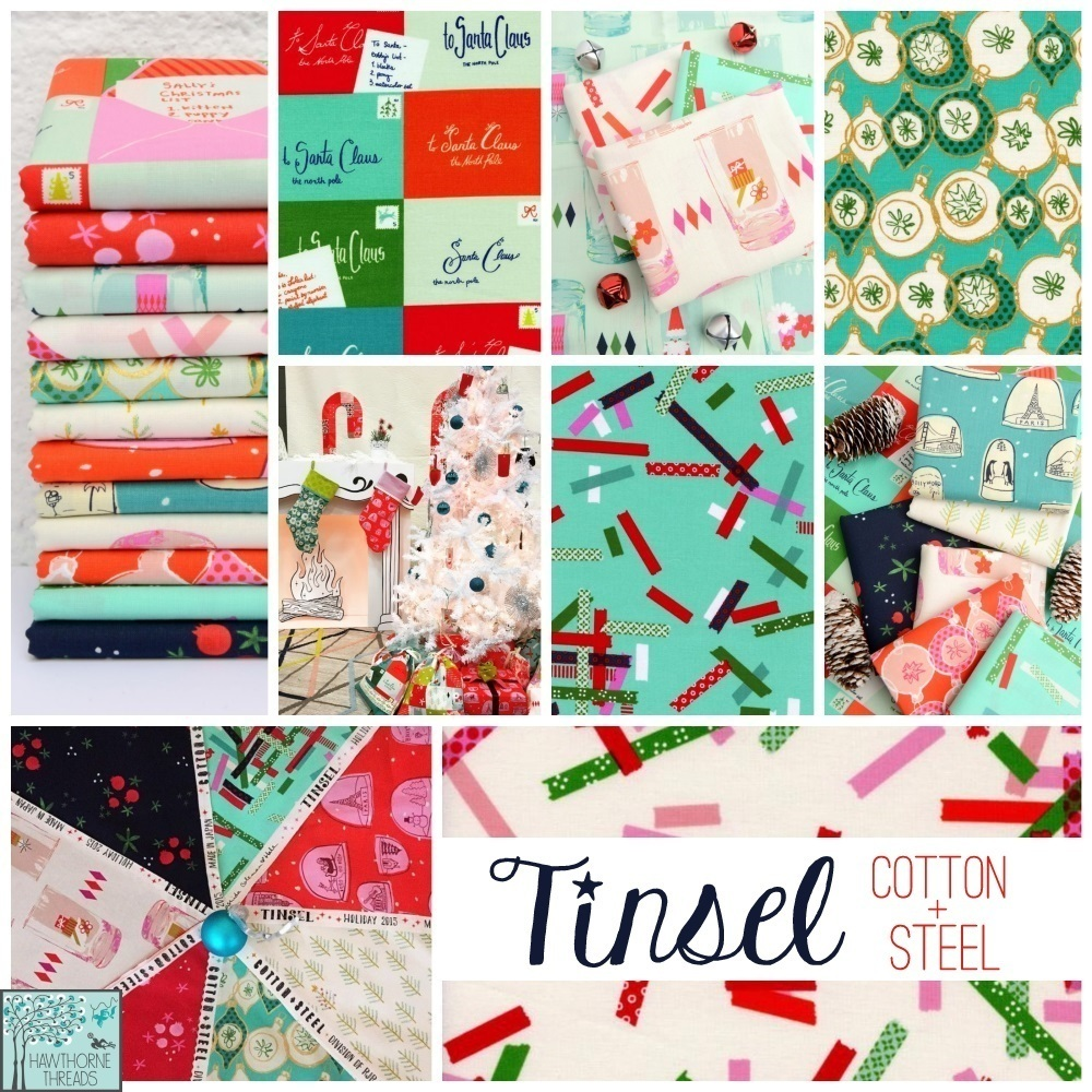 Tinsel Fabric Poster