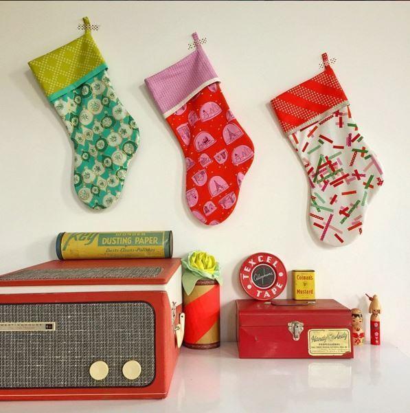 Tinsel stockings