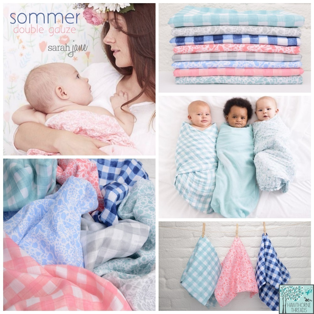 Sommer Double Gauze Fabric Poster