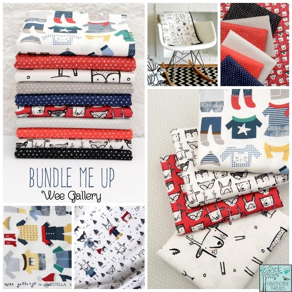 Bundle Me Up Fabric Poster