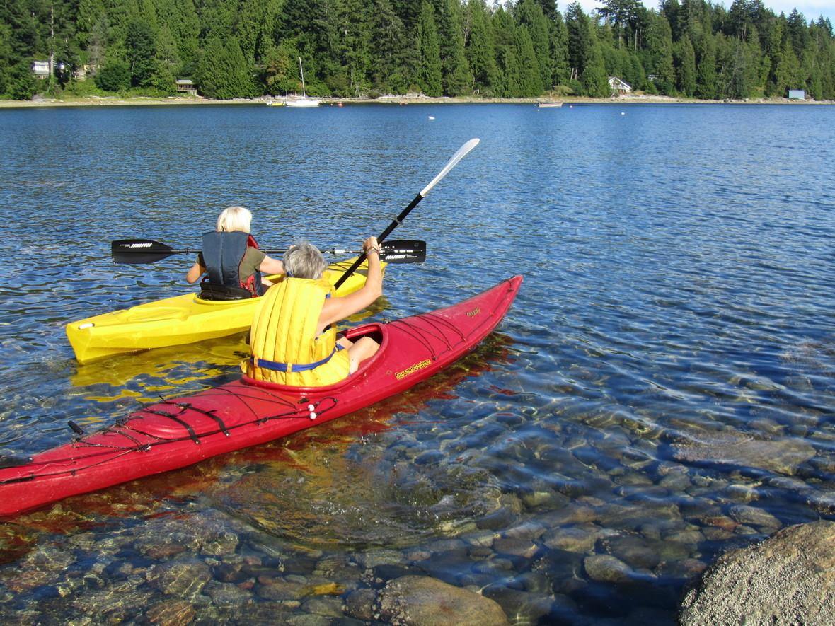 Kayaking at diamond heart retreat-2014