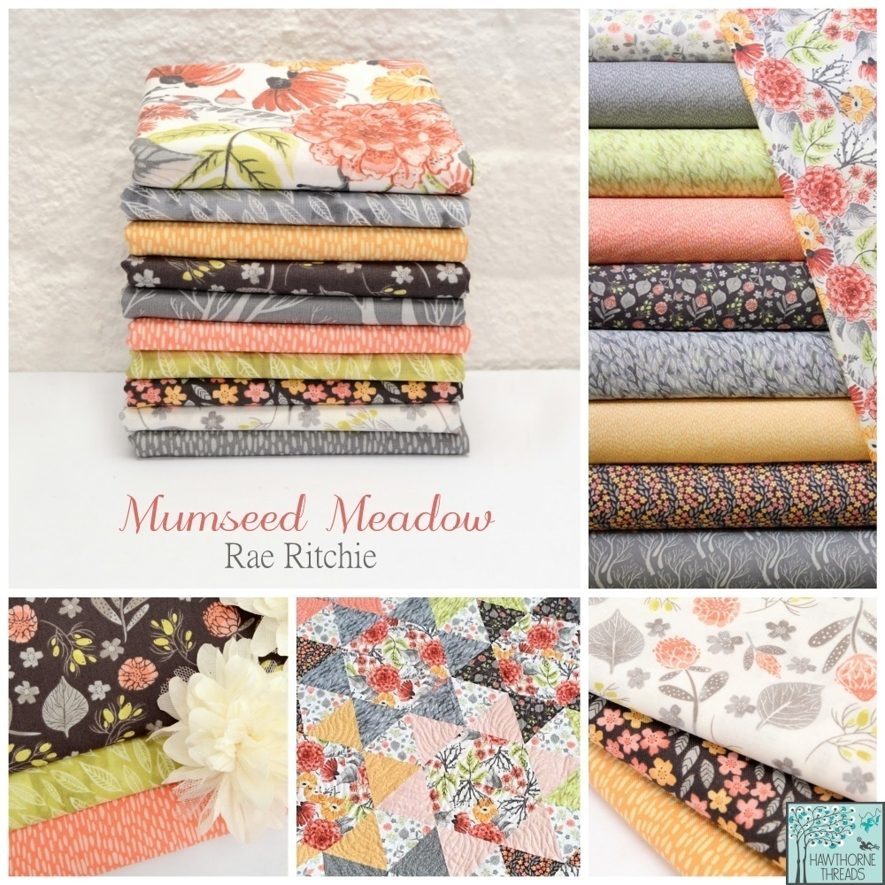 Mumseed Meadow Fabric Poster