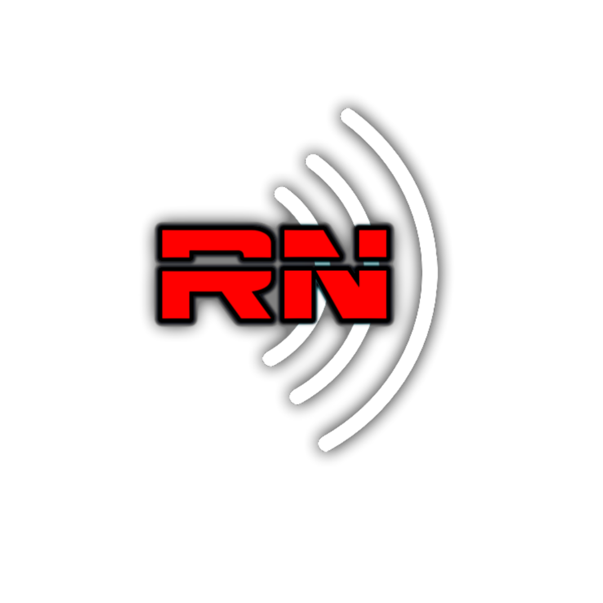RN - Rated NEXT Radio Network logo White HD102050 1134x1334