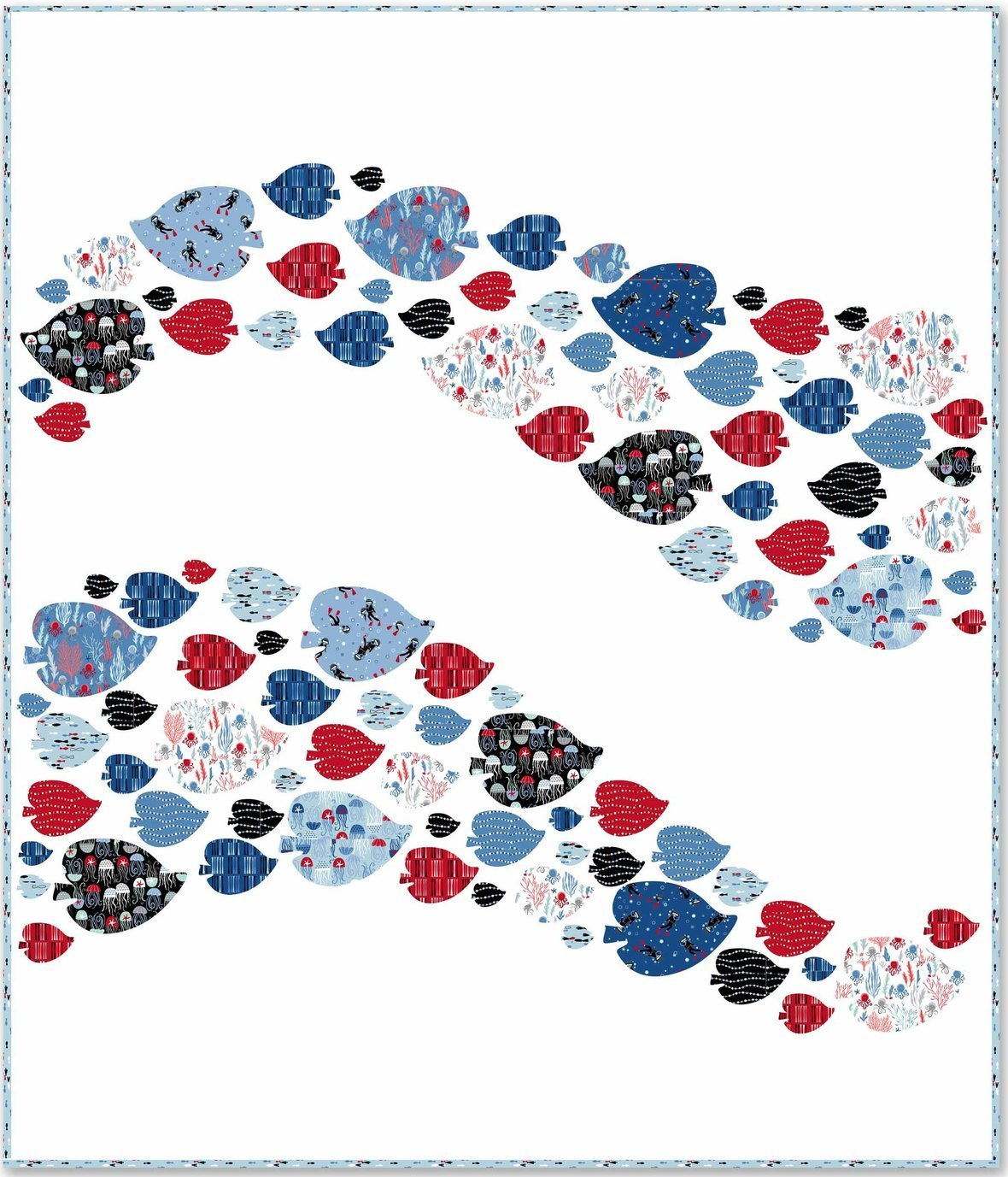 Come Dive with Me Schooling QUILT copy 2