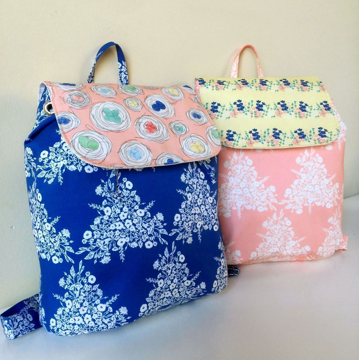 Meadowlark Fabric Back Packs