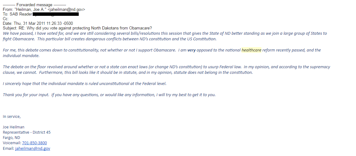 2011 HCF Email 2