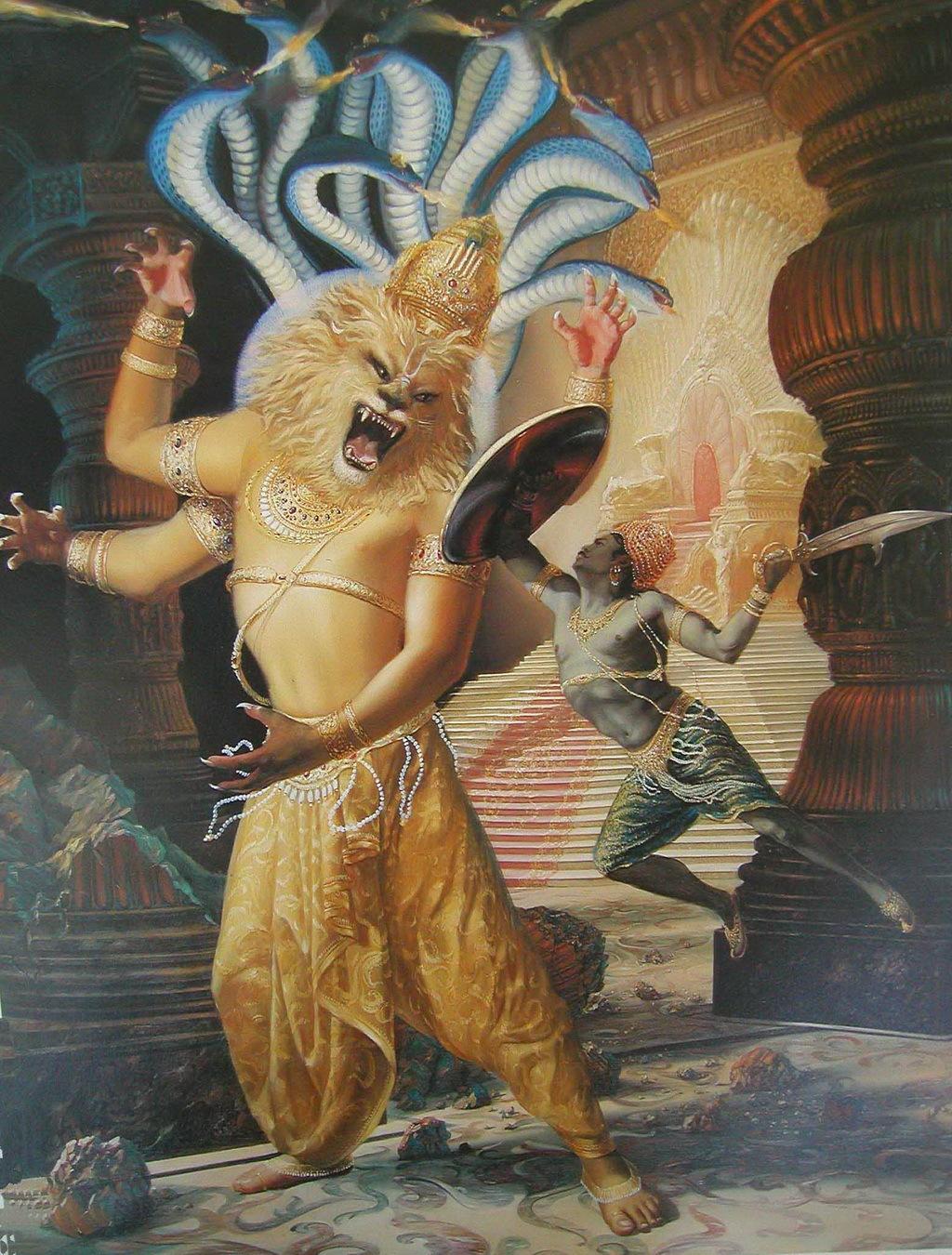 31-Hiranyakasipu-and-Narasringha-