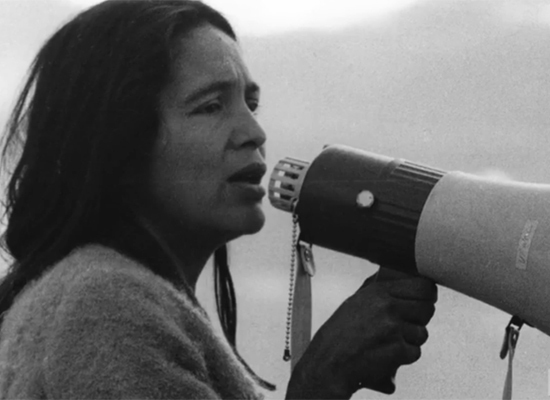 Dolores Huerta young
