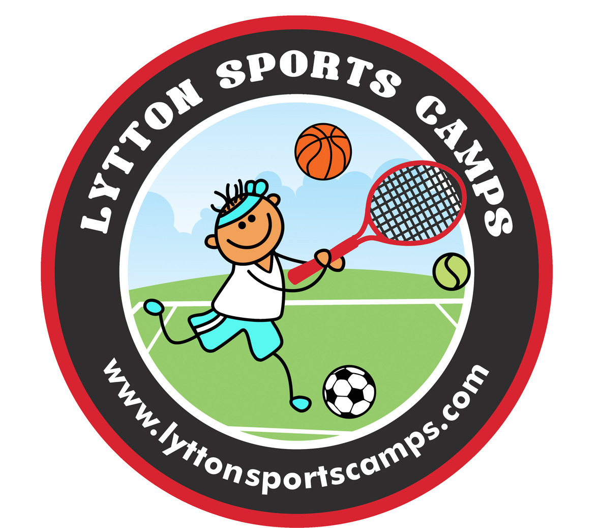 Lytton Sports Camps Red Layered