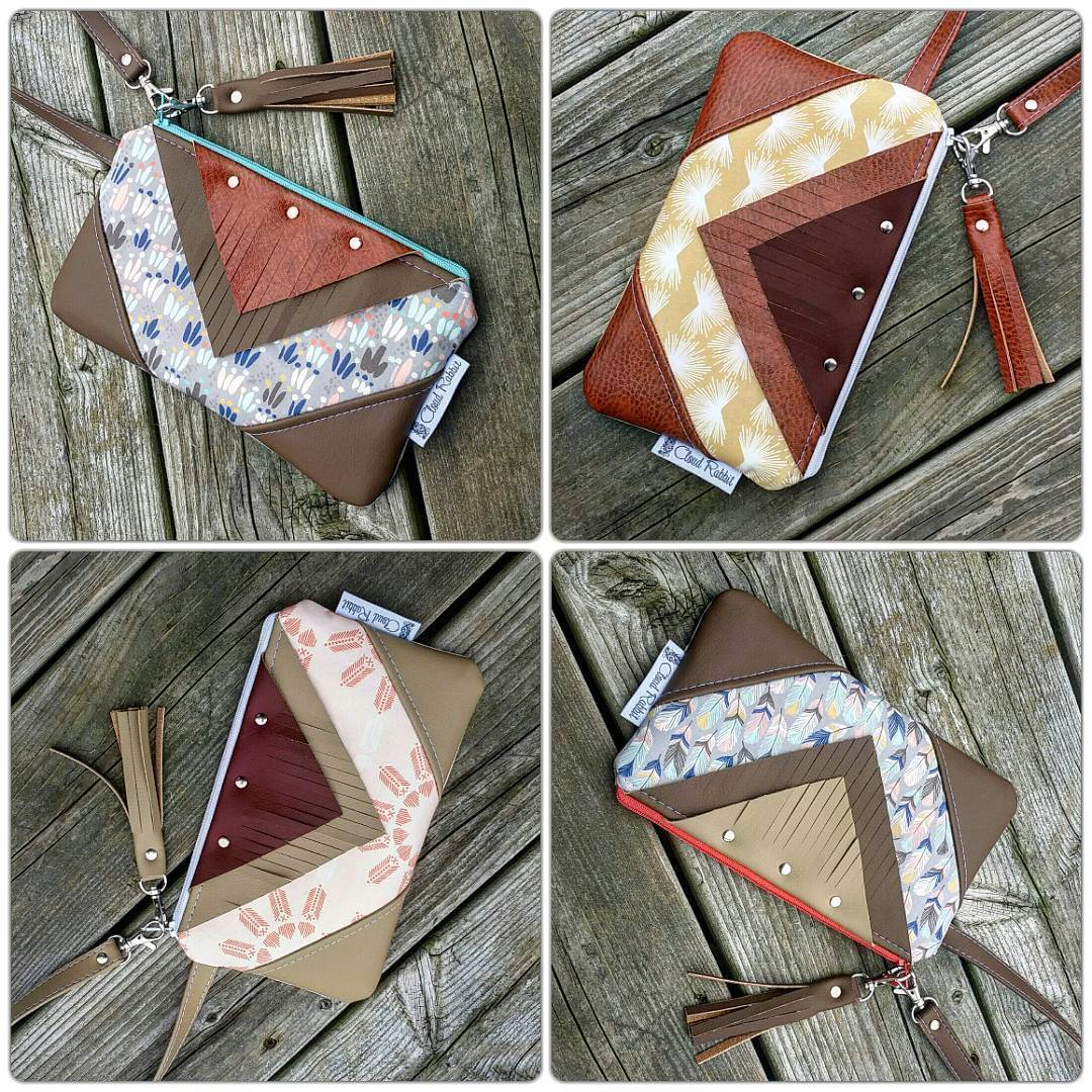 Mojave Bags from Cloud Rabbit Designs