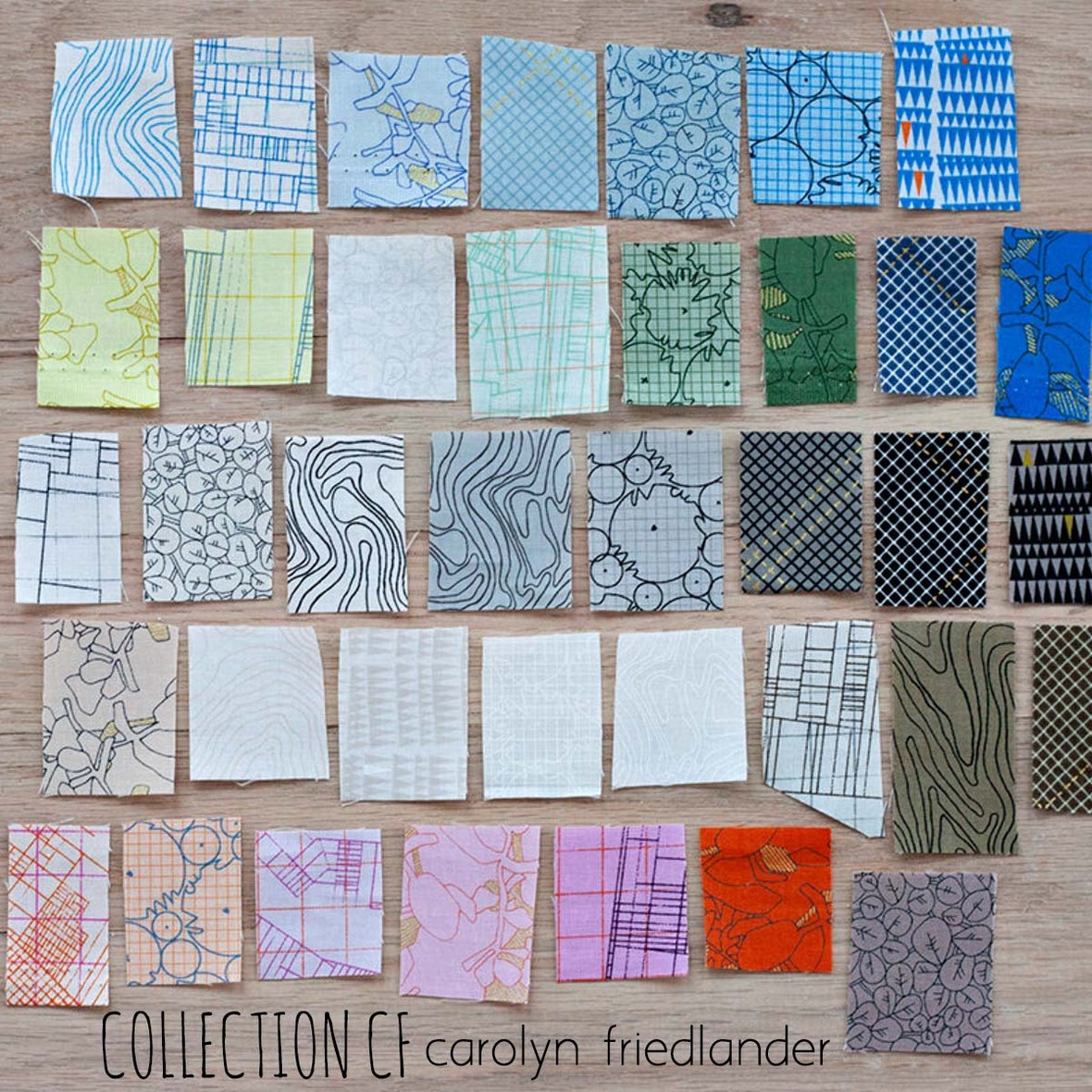 Carolyn Friedlander CF Fabric at Hawthorne Supply Co