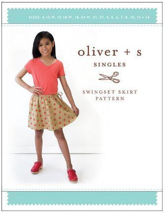 Capture Oliver and S Swingset Skirt