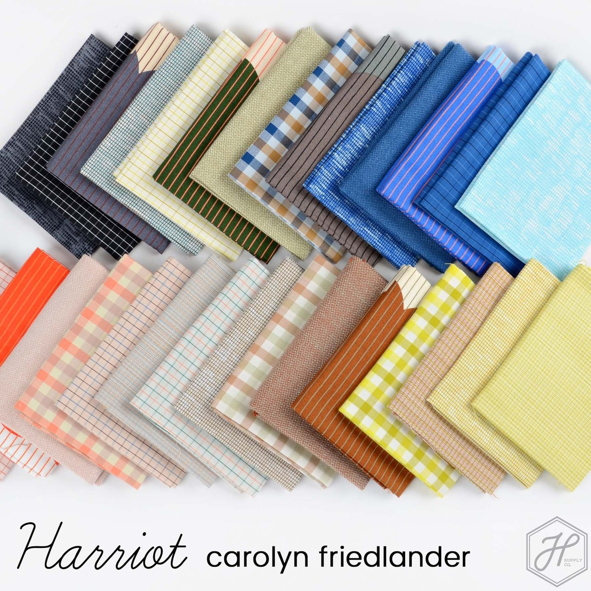 Harriot Fabric Poster Carolyn Friedlander at Hawthorne Supply Co
