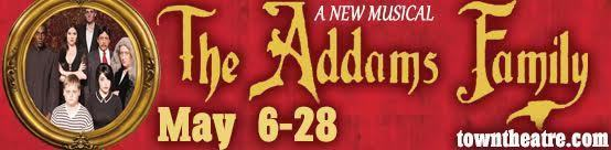 The Addams Family Banner ad