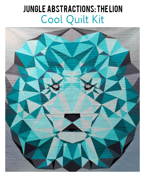 violet craft jungle abstractions the lion  cool quilt kit sewing pattern.jpg