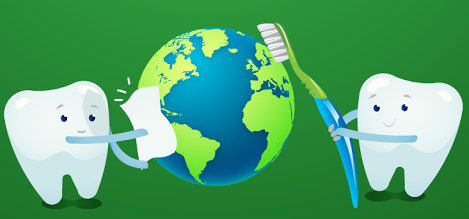 Image result for earth day dentist