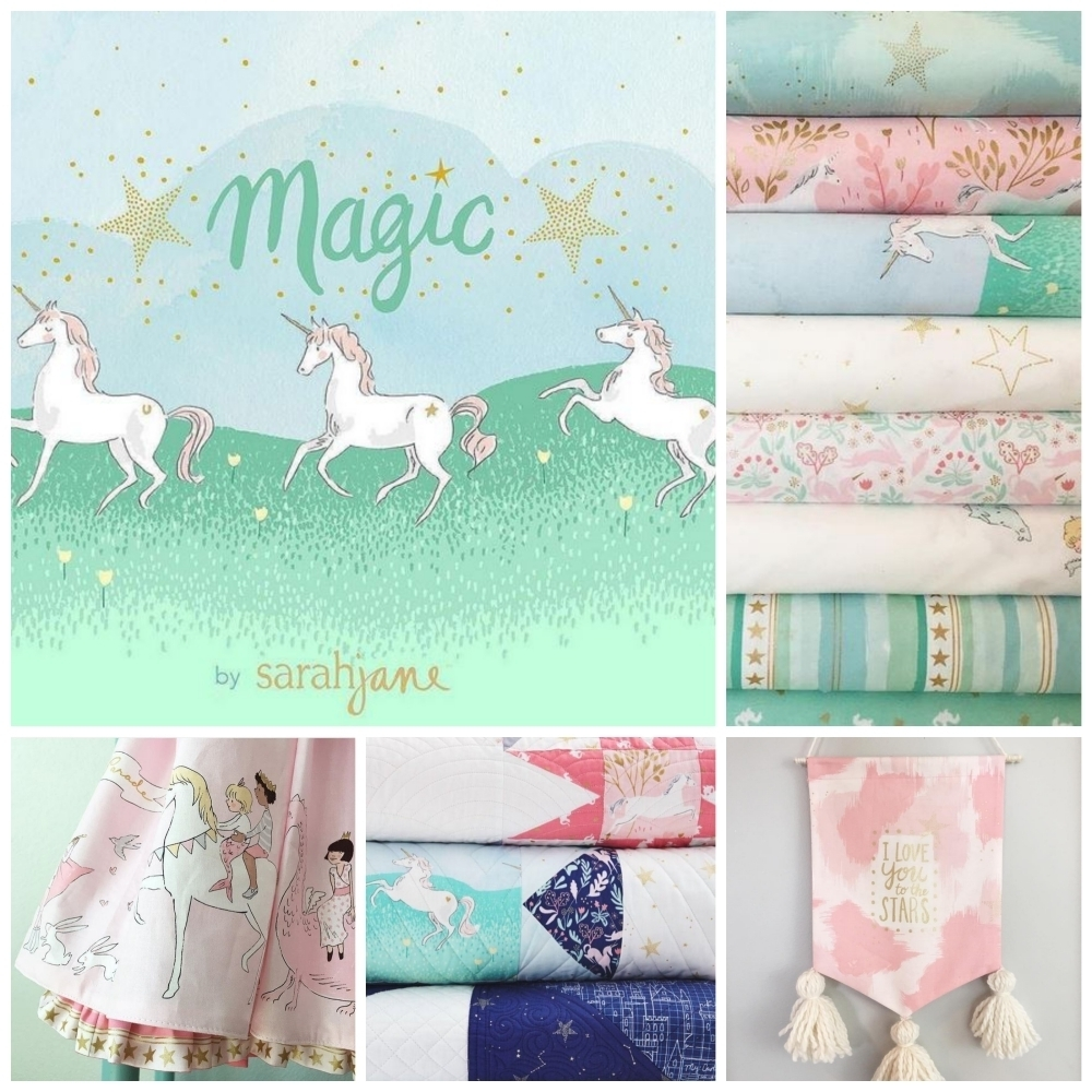 Magic Fabric Sarah Jane