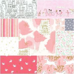3967 magic fat quarter bundle in pink