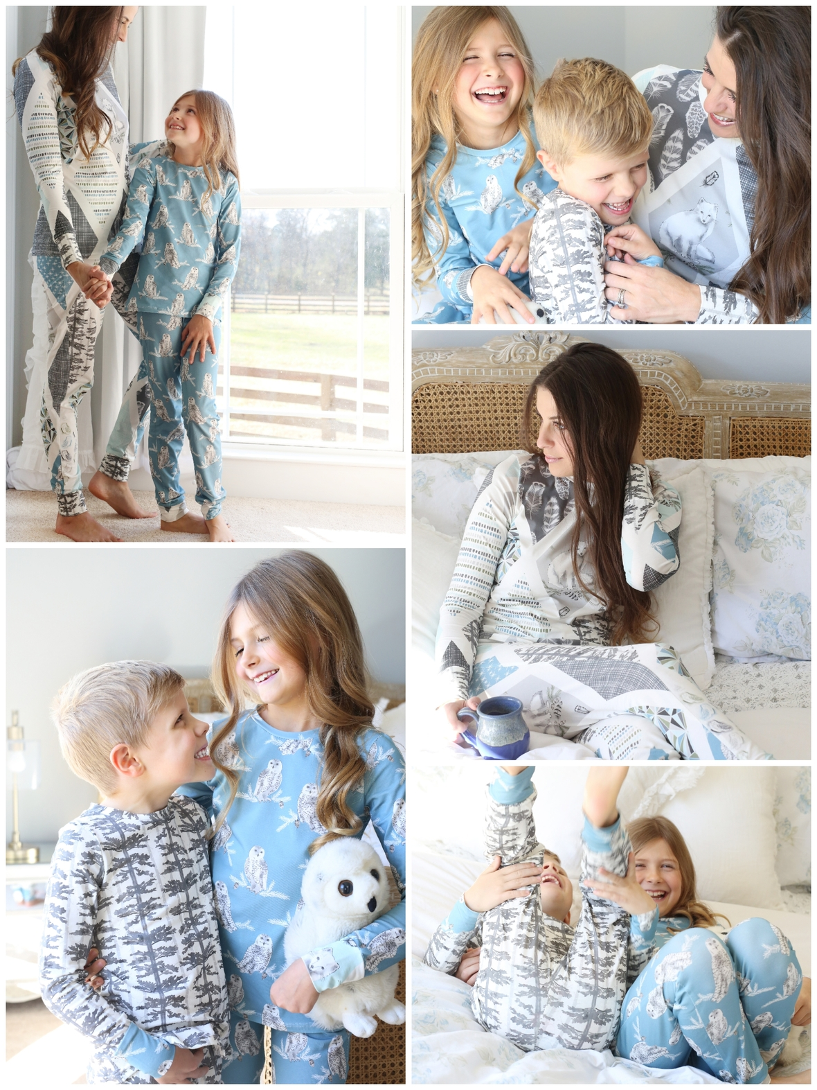 Tundra Knit Pajamas Violette Field Threads and Hawthorne Supply Co.