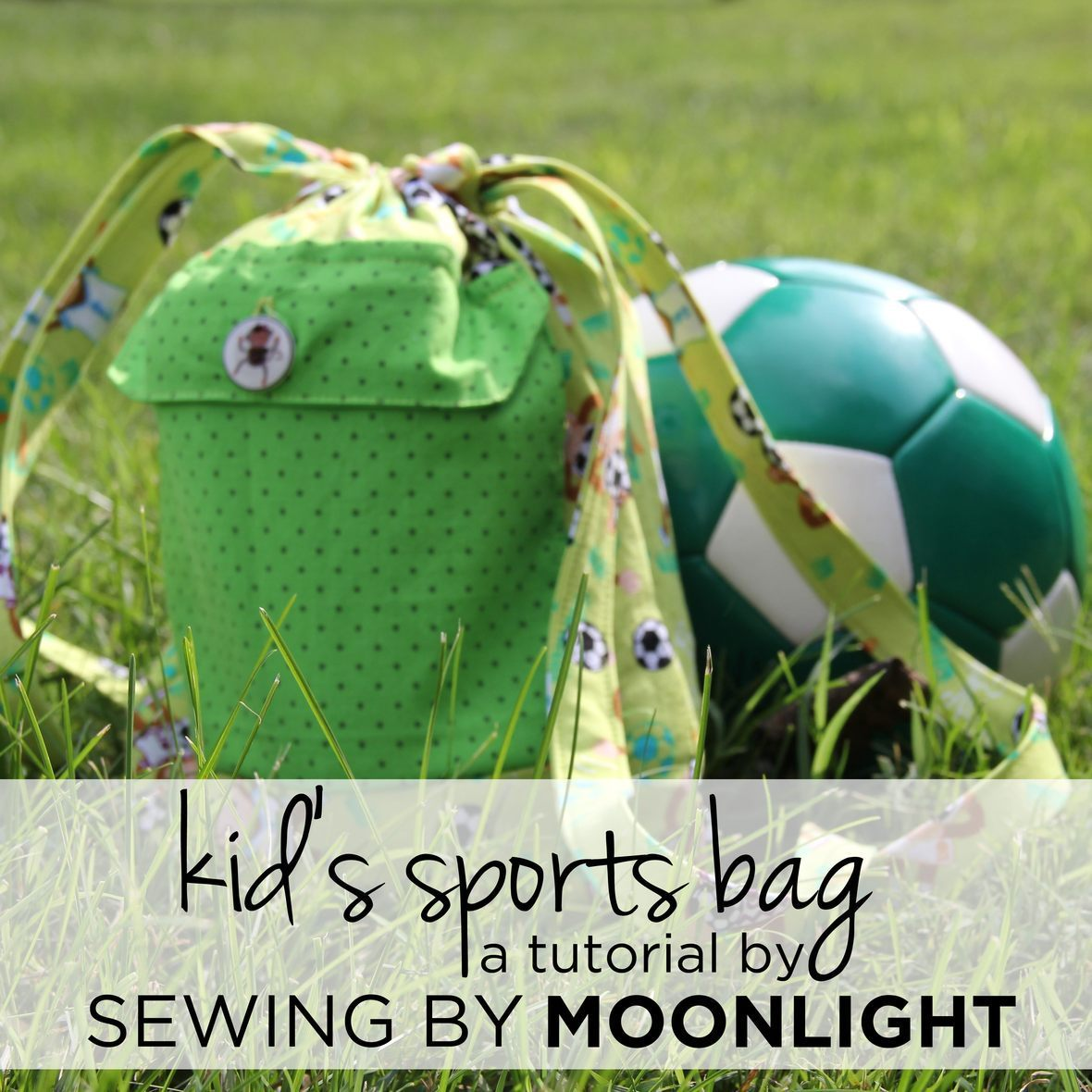 tutorial kid-sports-bag