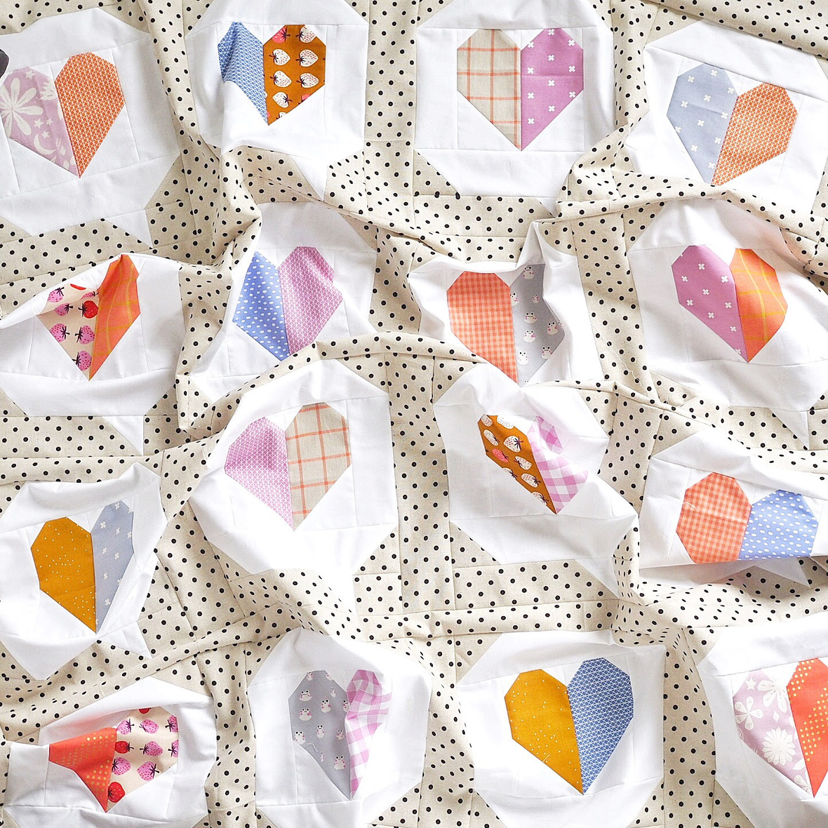 I Heart You Quilt from Then Came June