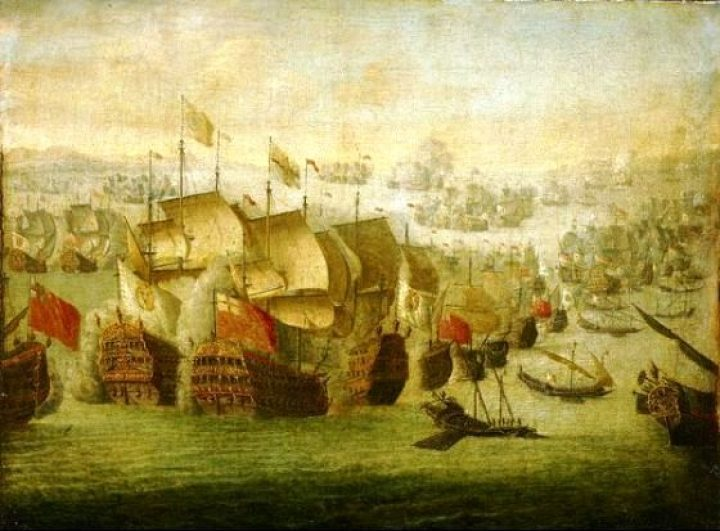 Battle of Malaga 1704-720x531