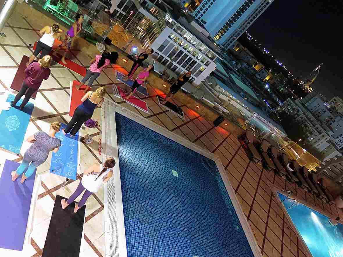 Yogalates Bliss Yoga in Dubai Outdoors