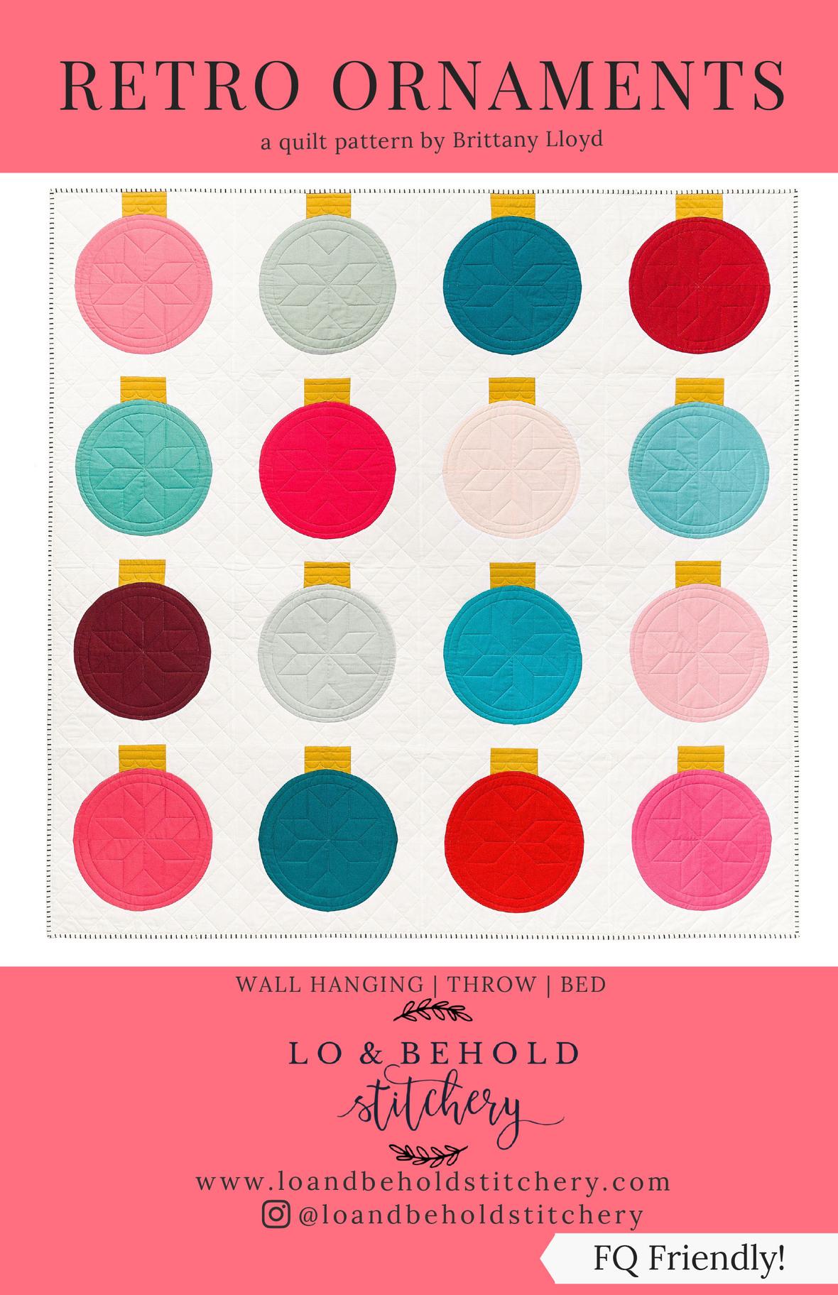 Retro Ornaments Front Cover single