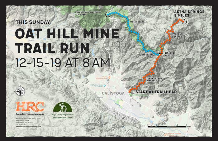 oat hill mine trailhead map